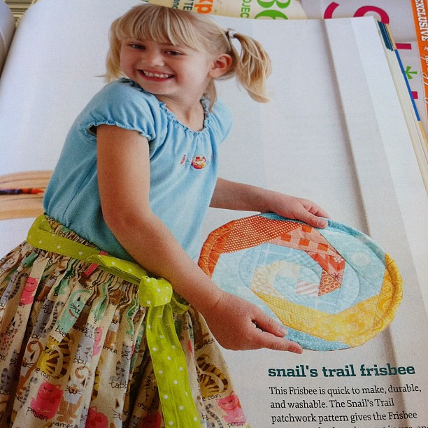My frisbee is in Stitch!! Pg. 57