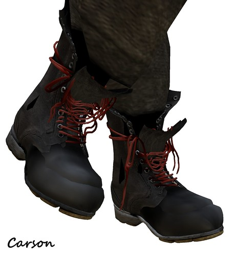 Death Row Designs - Lazy Sock boots