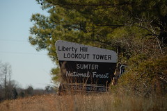 Liberty Hill Lookout Tower