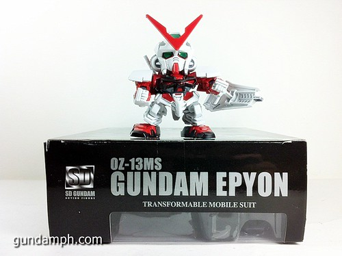 SD Gundam Online Capsule Fighter EPYON Toy Figure Unboxing Review (6)