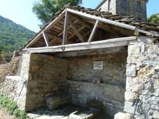 Water source in Dardhë, Korçë, Albania