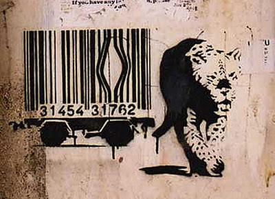 Banksy's Tiger