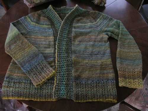finished sweater!