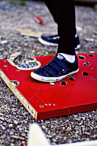 these shoes are made for smashing by Matt Hovey