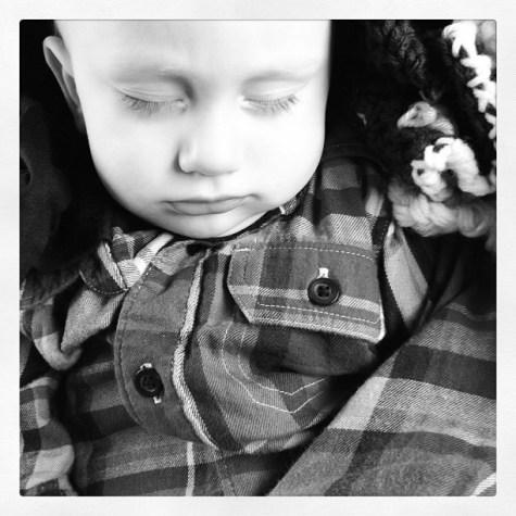 Sleeping like a baby. Me too. Good night instafriends. Zzzz.
