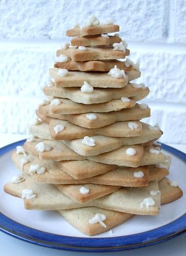 Biscuit Xmas tree