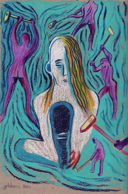 Migraine (Headache) - Illustration de Gilderic