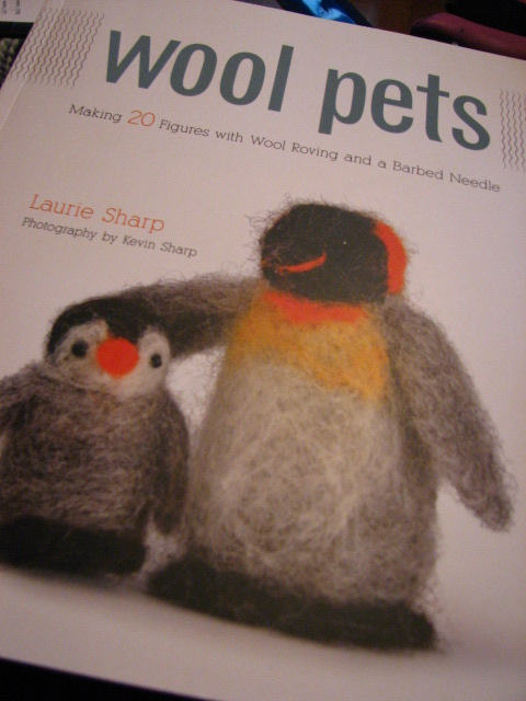 Wool Pets by Laurie Sharp