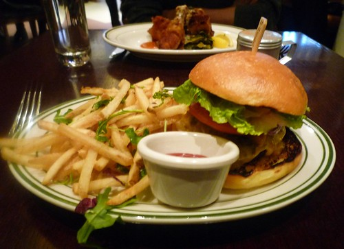 Red Rooster Burger