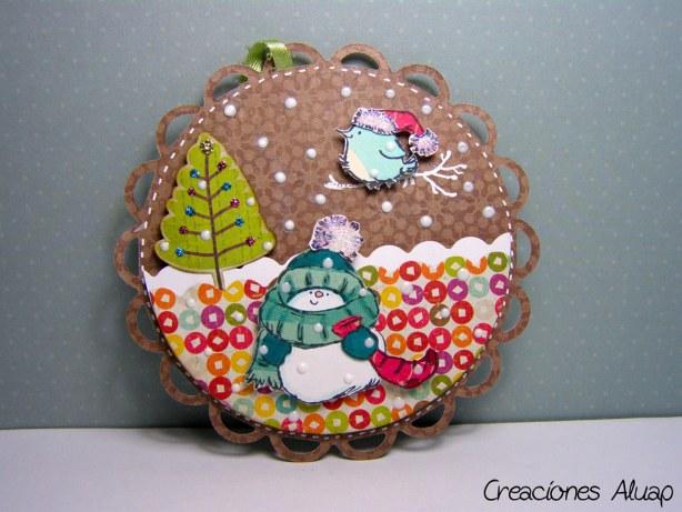 Adorno navideño - christmas ornament  (penny black)