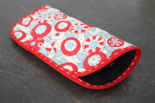 Christmas Gift Sewing - Eyeglass Case