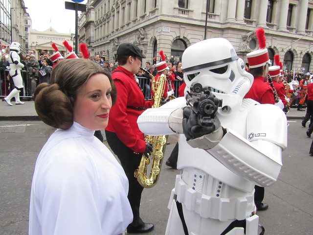 London's New Year's Day Parade 2012