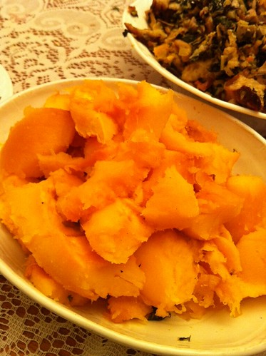 Pumpkin and stuffing