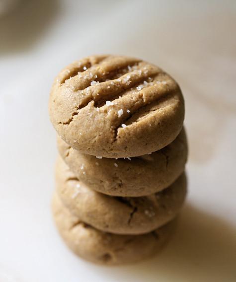 Soft Whole Wheat PB Cookies