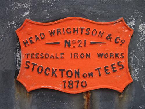 Head Wrightson No.21 Stockton