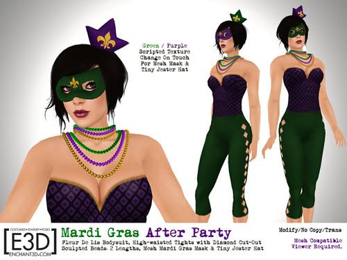 Flux: Mardi Gras After Party
