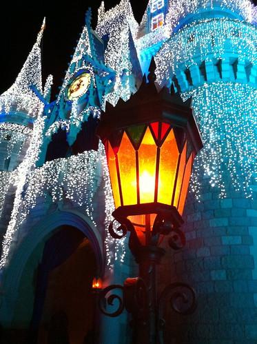 WDW Castle Lights