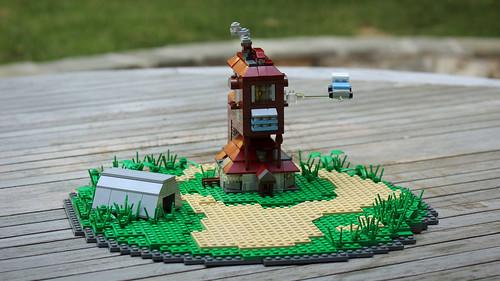 LEGO Harry Potter Burrow