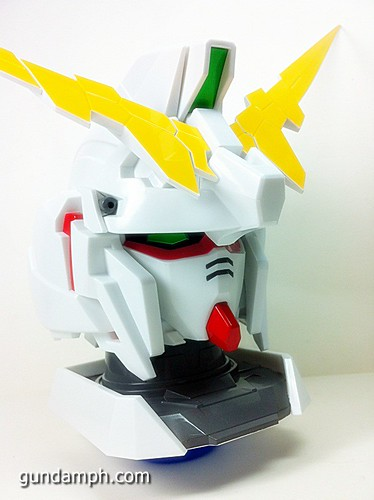 Banpresto Gundam Unicorn Head Display  Unboxing  Review (25)