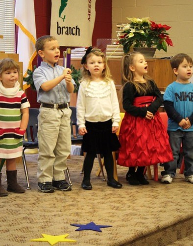 Jadyn's Preschool Christmas Program [2011]