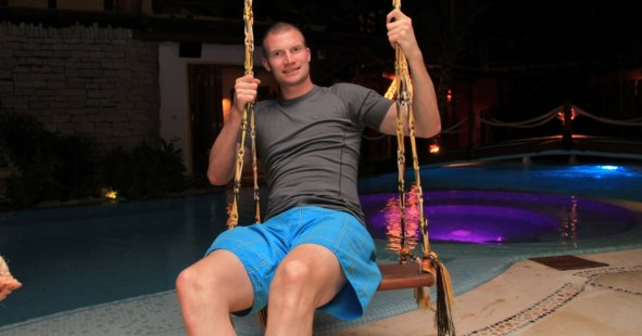 Swinging on Isla Holbox