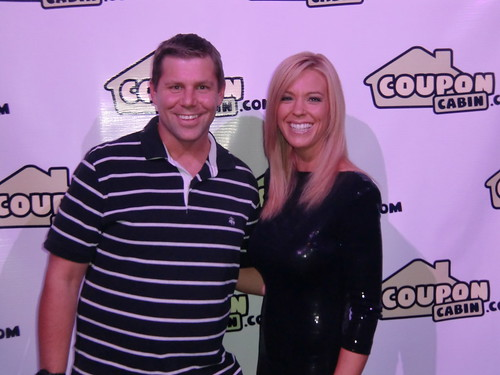 Shawn Collins and Kate Gosselin at Affiliate Summit West 2012
