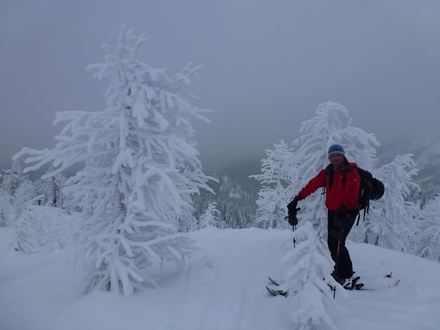 Back country skiing BC Cananda