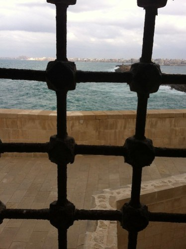 View of the Ocean from Qaitbey Citadel, Alexandria, Egypt