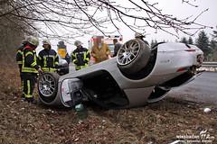 Sportwagen überschlagen K647 Rambach/Naurod 13.02.12