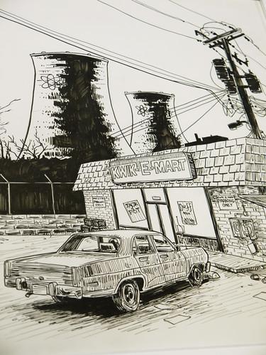05. Simpsonowie - szkic
