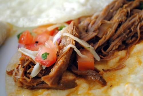 Shredded Tri-Tip Tacos with Fresh Tomato Salsa