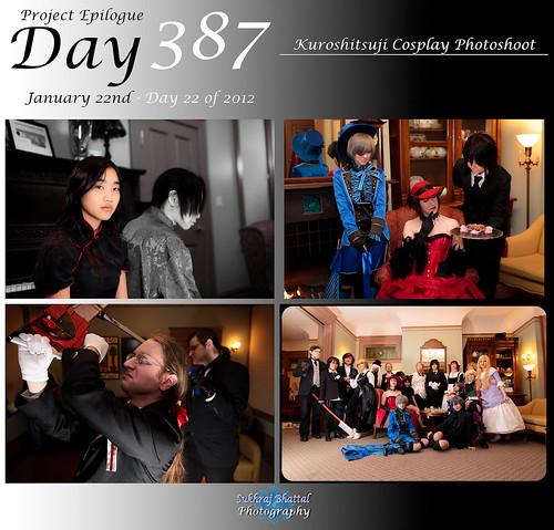 Day 387 - Kuroshitsuji Cosplay Photoshoot