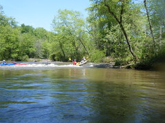 Canoe over the Shoals