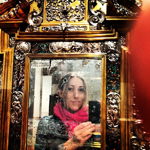 Hello, from a 16th century German mirror