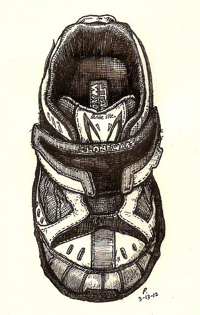 21: clone trooper shoe
