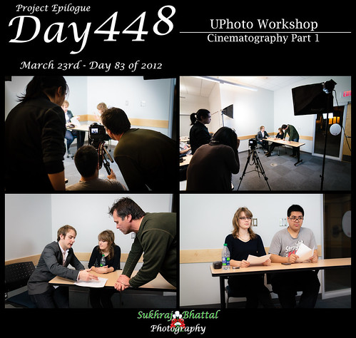 Day 448 - [UPhoto] Cinematography Workshop Part 1