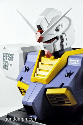 MSG RX-78-2 Bust Type Display Case (Mobile Suit Gundam) (30)