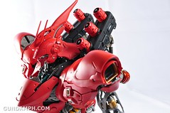 Formania Sazabi Bust Display Figure Unboxing Review Photos (130)