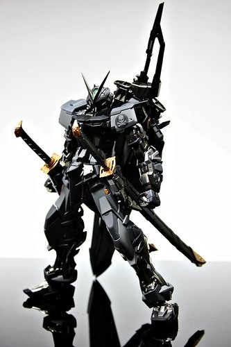 Stealth Version Gundam Astray Custom Painted Build (1)