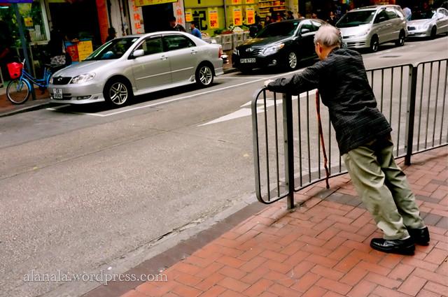 roadside stretching exercise