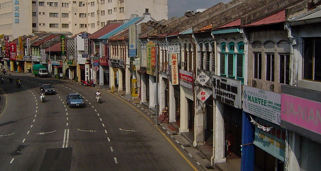George Town Shophouses by Daniel Berthold