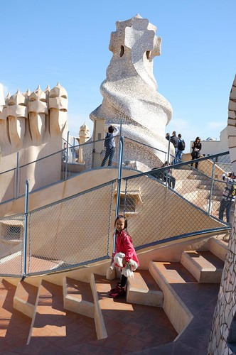 at the La Pededra / Casa Mila