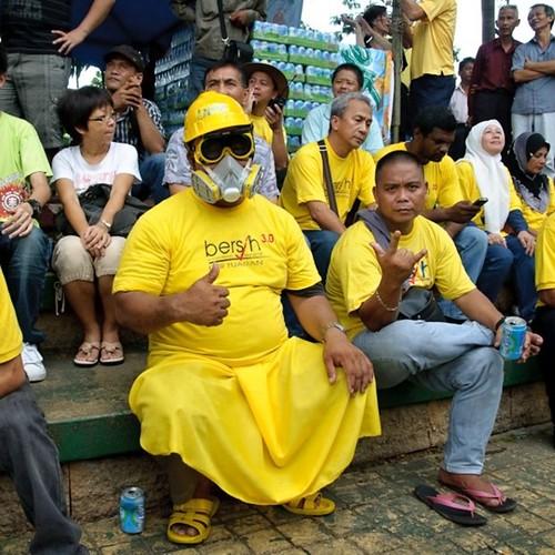 Bersih 3.0 Kota Kinabalu The best Yellow man!