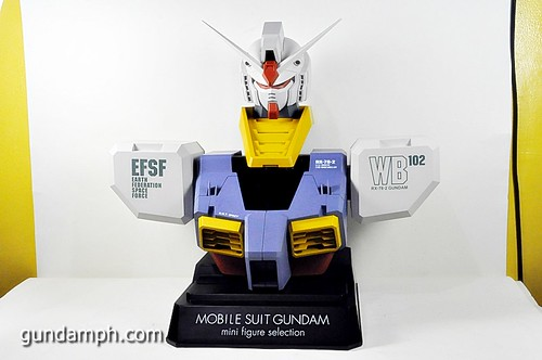 MSG RX-78-2 Bust Type Display Case (Mobile Suit Gundam) (39)