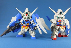 Sneak Peak SD Gundam AGE-2 Normal & Double Bullet (2)