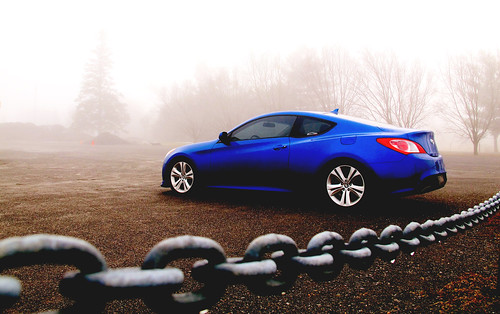 Last Winter Shot - Genesis Coupe