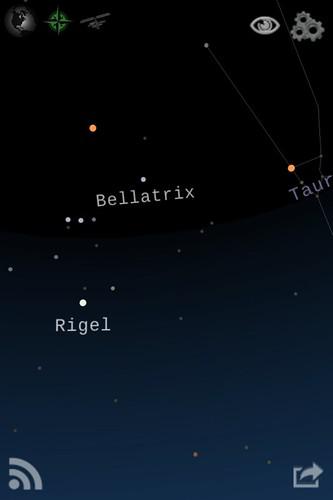Orion on Starwalk