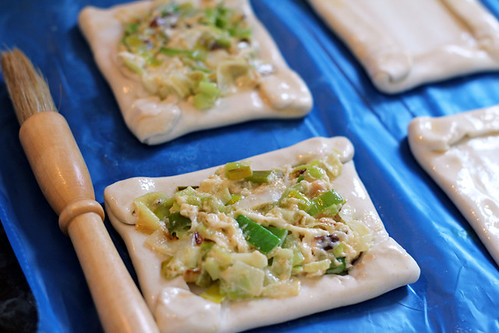 Leek and Goats cheese pastry (3/6)
