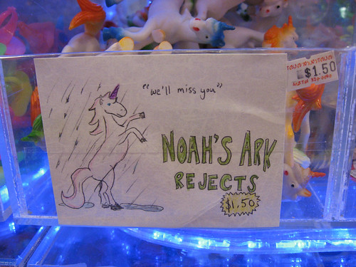 Noah's Ark rejects