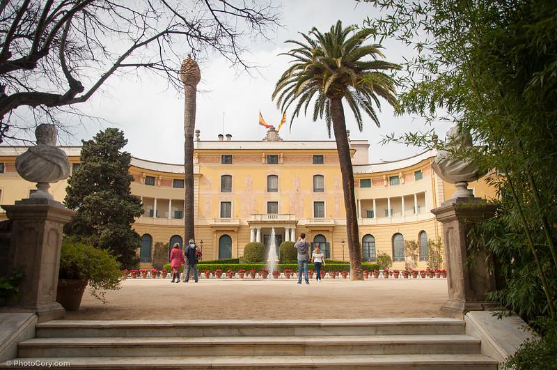 Pedralbes Royal Palace, Barcelona, Palau Reial de Pedralbes